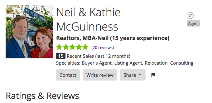 Neil and Kathie McGuinness - Zillow Reviews